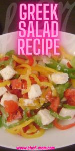 how to make greek and Mediterranean salad recipe with feta cheese it simple and easy traditional salad content classic ingredients like cucumber and tomato for vegan diet #salad#greeksalad Feta Cheese Recipes, Greek Salad Recipes, Vegetarian Cheese, Easy Summer Meals, Summer Recipes, Mediterranean Salad Recipe, All Vegetables, Kinds Of Salad, Easy Salads