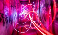 25 Breathtaking Examples of Light Painting and Graffiti