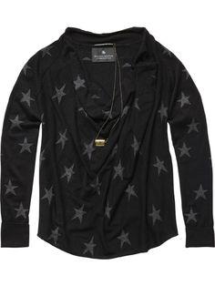 Soft cashmere-mix cowl neck knitted top - Sweats - Scotch & Soda Online Shop