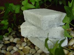 Salt Soap for Acne Vegan Friendly 5 to 6 ounce bar by naturesmuse, $4.75