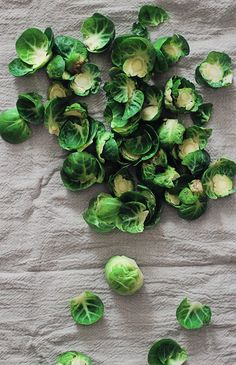 Steamed Brussels Sprouts with Tangerine Dressing
