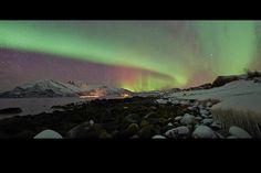 Aurora boreal. Foto: BBC Mundo