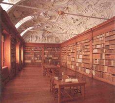 Bibliotheek Abdij van 't Park, Belgie -- wat kan een zitkamer zijn?