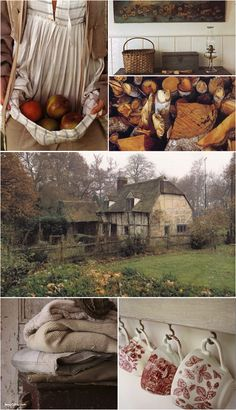 The Paper Mulberry: Farmhouse Harvest English Cottage Interiors by Hugh Lander and Peter Rauter Country Life, Country Living, Country Style, Country Charm, Cozy Cottage, Cottage Style, Tudor Cottage, Farm Cottage, Red Cottage