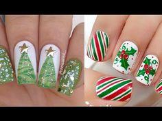 Diseño de Uñas para Navidad - Nail Design for Christmas