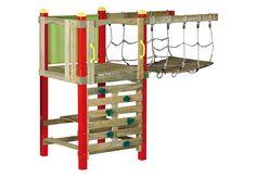 Swing Slide Climb Bridge And Tower Extension Set BRO01 - Bunnings Warehouse