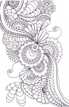 zentangle Note: I hope you have pinned what you like from this board, as I am planning to remove some designs that have not been repinned a...