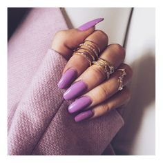 """""""Hand candy from @primark amazing nail polish from @soignenailsuk """"  AHHHHH #beauty #love #violet #viola #nails #nail #unghie"""