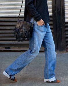 Vestiaire, Sac À Main, Prêt À Porter, Mode Tendance, Garde Robe, Tenue,  Jeans Denim, Jean À Revers, Mode Automne, Mode Jeans, Mode Femme, Guide De  La Mode, ... f76c2b5552e6