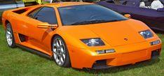 orange lamborghini diablo | Car Sports Lamborghini