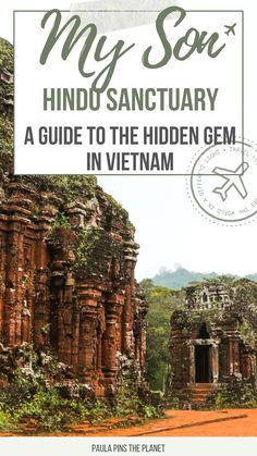 My Son Sanctuary in Vietnam is a UNESCO World Heritage Site that is trully hidden gem and often skipped. It is a worthwhile place to visit as a day trip from Hoi An or a day trip from Danang. My Son Temples date over 1,0000 years old in the middle of the jungle. On this guide, you can find all the information you need to visit My Son Temples and Sanctuary, and all the practical information on how to go on My Son tour on your own - My Son Sanctuary | My Son Temples | My Son Photography