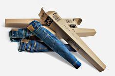Lee Skinny Jeans Packaging | Zeutch