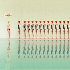 New Swimming Pool Series by Maria Svarbova