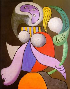 Woman with flower - Pablo Picasso