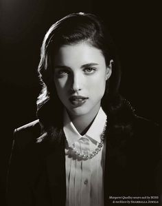 Sarah Margaret Qualley - American actress and model. Margaret Qualley, Michelle Alves, Vintage Girls, Beautiful Actresses, In Hollywood, Shades Of Black, American Actress, Pretty Woman, Female Models