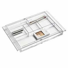 The Container Store > Expanding Acrylic Drawer Organizer - kids drawers in school desk