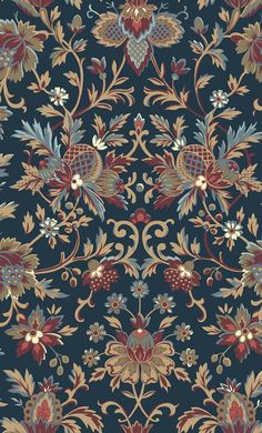 Swavelle Mill Creek Filomena Volcano Fabric Jacobean