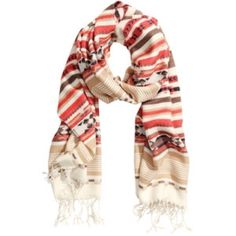 H&M Aztec Scarf Great condition! Long scarf - can be worn several ways. Accessories