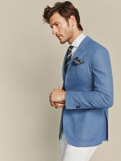 The best selection of contemporary and vintage clothing luxury brands and many more you can buy online now Blazer Outfits, Casual Outfits, Men Casual, Vintage Outfits, Vintage Clothing, Men's Clothing, Waistcoat Men, Summer Suits, Sports Jacket