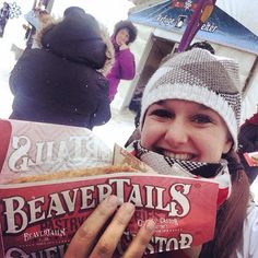 BeaverTails pastries - bringing the smiles since 1978 via Bianca Paquette on Twitter