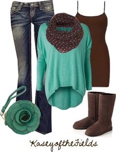 winter, cute outfit. ✌️