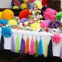 Tassle Garland - Bespoke Colours by www.PearlandEarl.com
