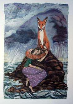 The fox slowly and artfully began to materialise on the periphery of my conciousness and seep seamlessly into my paintings about five years ago. Today I class it as a major player in my lexicon of …