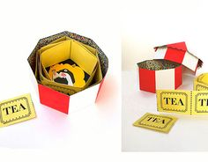 """TEA Packaging Design by Polina Perova"" http://be.net/gallery/56342385/TEA-Packaging-Design"
