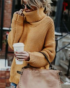 The Best Sweater Weather Outfits Ever 2019 . The post The Best Sweater Weather Outfits Ever 2019 appeared first on Sweaters ideas. Winter Mode Outfits, Winter Fashion Outfits, Autumn Winter Fashion, Fall Outfits, Cute Outfits, Trendy Outfits, Sweater Fashion, Fashion Fall, Fashion Mode