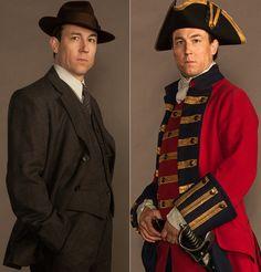 Outlander Series: Tobias Menzies, 'Frank Randall' and 'Black Jack Randall'