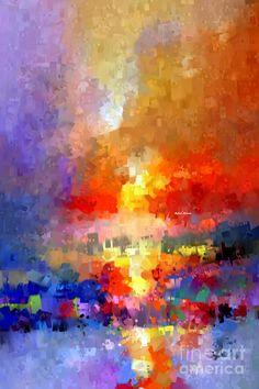 Abstract 027 Digital Art by Rafael Salazar