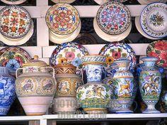 spain , andalucia , costa del sol , estepona , handmade pottery ceramics Valencia Restaurant, Mediterranean Tile, Nerja, Spain Holidays, Spanish Style Homes, Tuscan Style, White Tiles, Boutique Design, Spanish Food