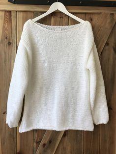 #Oversized #White #Chunky #Sweater #White #Big #Sweater #Loose