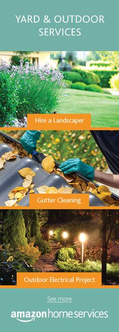 Tis the season to give your yard some extra love.  Consider brightening up your walkway with light posts, cleaning your gutters during storm season, or hiring a landscaper for yard work.
