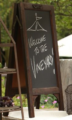 *Welcome to the Vineyard!