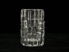 Mid Century Modern Bohemian Art Glass Vase by by BetterLookBack