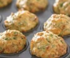 Recipe Pumpkin, Spinach and Feta Lunchbox Muffins