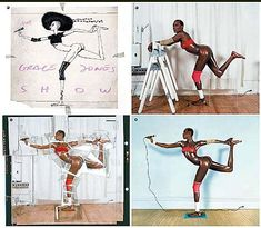 Jean Paul Goude. Goude worked closely with model-turned-pop-singer Grace Jones, consulting on her image, choreographing her live stage performances, directing her music videos, and creating her album covers.