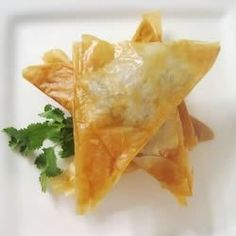 "Phyllo Turnovers with Shrimp and Ricotta Filling | ""Every time I make these people fall in love with them! Everyone thinks they are amazing and is always asking for the recipe. """