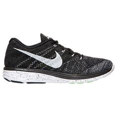 Men's Nike Flyknit Lunar 3 Running Shoes - 698181 010 | Finish Line