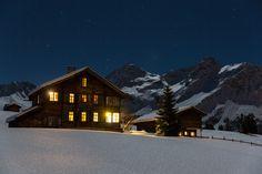 Moonlight @ Arosa, Switzerland.