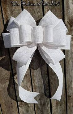 Diy Bow, Diy Ribbon, Ribbon Bows, Wired Ribbon, Ribbon Hair, Ribbons, Ribbon Flower, Fabric Flowers, Burlap Ribbon Crafts