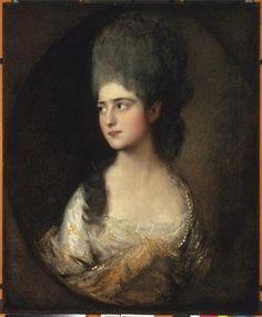 Gainsborough - Portrait of Miss Elisabeth Linley 1775