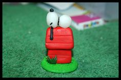 Fimo Snoopy Figurine by inu-chan-free.deviantart.com on @deviantART