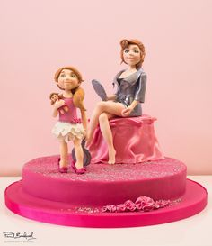 Online Tutorial, Paul Bradford Sugarcraft School, Mother and Daugther Fondant Figurines