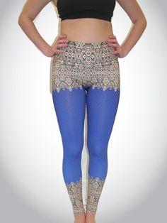 Om Shanti Clothing - Elegant Border Legging