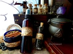The Magical Trunk  Large Travel Witch Kit by EireCrescent on Etsy, $79.99