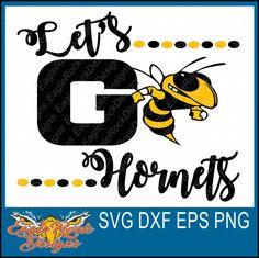 Hornet Mascot SVG File-Cutting File-Clip Art for ...