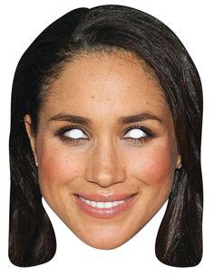 Celebrity Mask Eyeliner Alice Cooper Card Face and Fancy Dress Mask