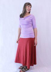 comfy skirt long from textureclothing.com (Martha Stewart nominee)